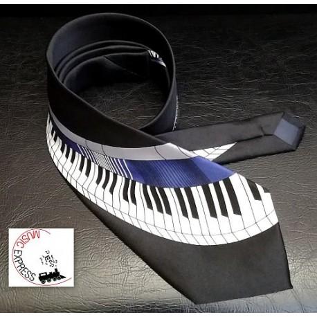 Musik-Boutique FK3132 - Cravatta Musicale con Tastiera Pianoforte