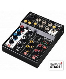 Italian Stage IS2MIX3UB Mixer 3 Canali USB Bluetooth