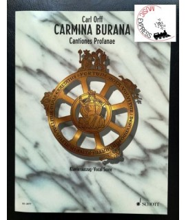 Orff - Carmina Burana - Vocal Score
