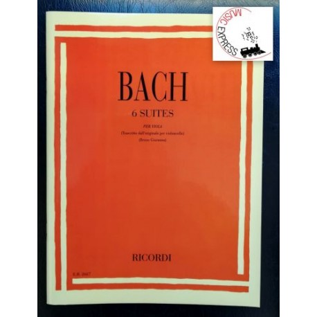 Bach - 6 Suites per Viola
