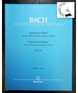 Bach - Concerto in D minor for Two Violins, Strings and Basso Continuo BWV 1043