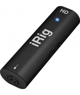 iRig HD - IK Multimedia - Interfaccia HD per chitarra per iPhone, iPad e Mac