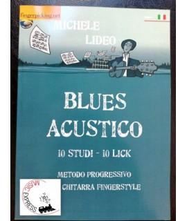 Lideo - Blues Acustico - Metodo Progressivo per Chitarra Fingerstyle