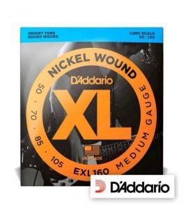 D'Addario EXL160 Nickel Wound 50/105