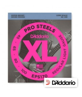 D'Addario EPS170 ProSteels Bass Light 45/100