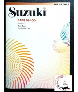 Suzuki Bass School Volume 2 - Bass Part - Revised Edition
