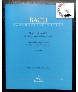 Bach - Concerto in A minor for Violin, Strings and Basso Continuo BWV 1041
