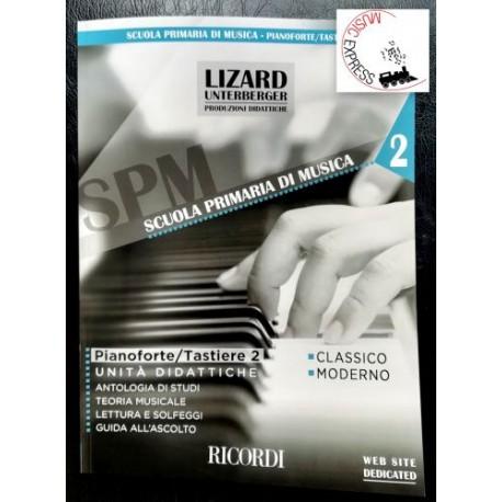 S.S.M. Scuola Primaria di Musica - Pianoforte/Tastiere 2 - Lizard-Unterberger