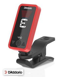 D'Addario Eclipse Tuner Red