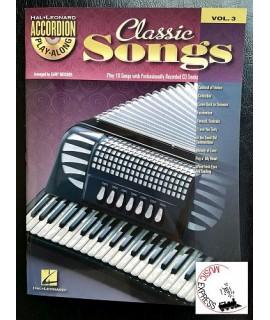 Vari - Classic Songs Vol. 3 Accordion