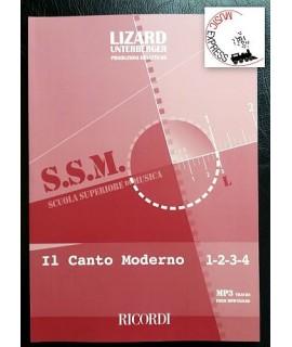 S.S.M. Scuola Superiore di Musica - Il canto Moderno 1-2-3-4 - Lizard-Unterberger