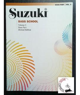 Suzuki Bass School Volume 3 - Bass Part - Revised Edition