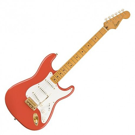 Fender Classic Vibe 50s Strato Maple Fing Fiesta Red