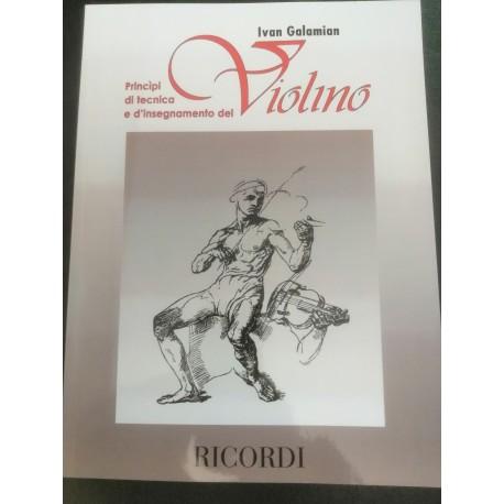 Principi di tecnica e d'insegnamento del violino