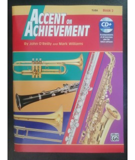 O'Reilly,Williams - Accent on Achievement per tuba book 2