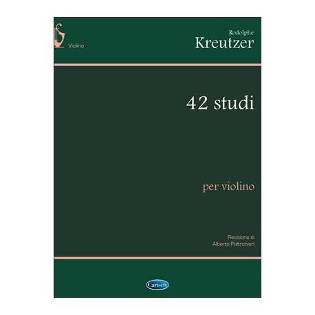 Kreutzer-42 studi per violino