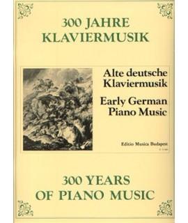 300 Jahre Klaviermusik- early german piano music