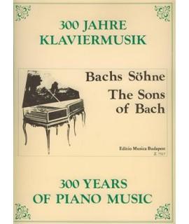 300 years of  piano music- early german piano music