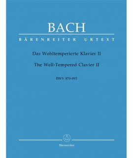 Bach- Das wohltempierte klavier II  BWV 870-893