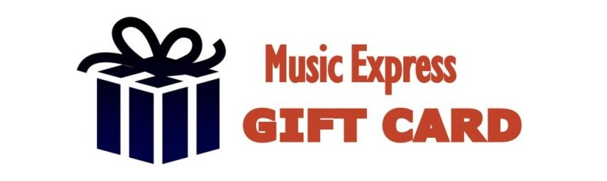 GIFT CARD MUSIC EXPRESS