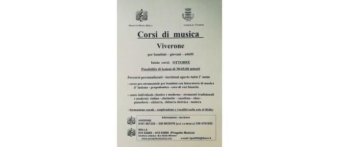 Corsi di Musica - Viverone