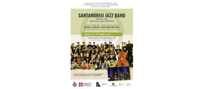 EVENTI - Santandreu Jazz Band a Vigliano Biellese!